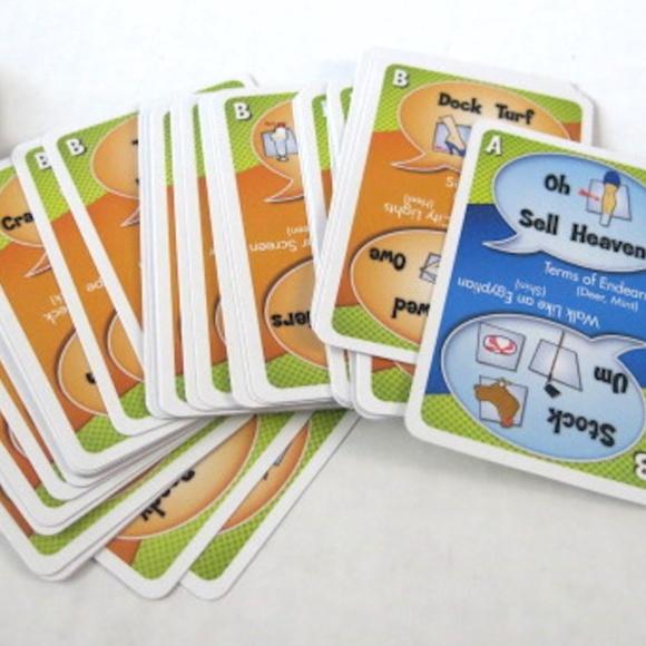 Mattel Mad Gab Picto-Gabs Card Game